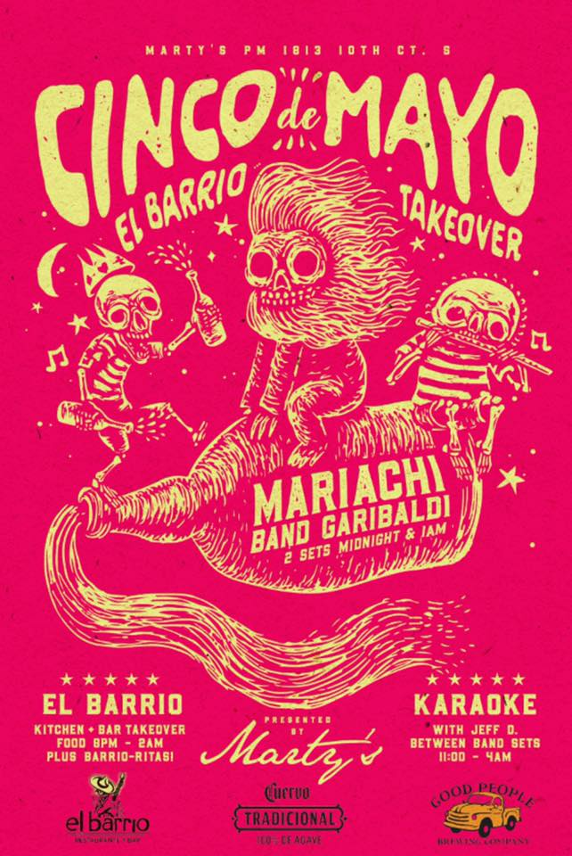 Cinco de Mayo El Barrio Takeover, May 5, 2019 at Marty's PM