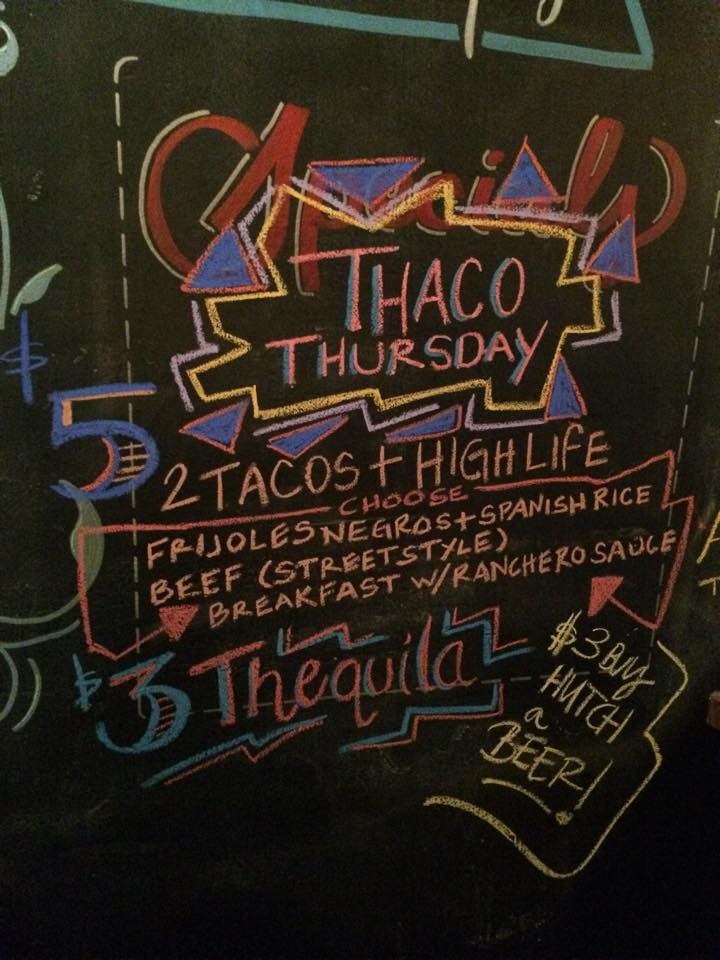 Taco Thursdays, Every Thursday at Marty's PM